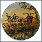 The Surrey With The Fringe On Top Collector Plate by Mort Künstler