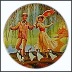 A Jolly Holiday With Mary Collector Plate by Michael Hampshire MAIN