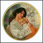 Mother's Here Collector Plate by William Chambers