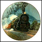 The Broadway Limited Collector Plate by R. E. Pierce MAIN