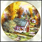 School Days Collector Plate by Kirk Randle MAIN