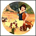 With A Smile And A Song Collector Plate by Disney Studio Artists
