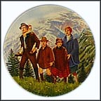 Climb Every Mountain Collector Plate by Tony Crnkovich