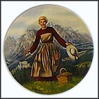 Sound Of Music Collector Plate by Tony Crnkovich