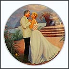 Some Enchanted Evening Collector Plate by Elaine Gignilliat