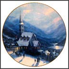 A Beacon Of Faith Collector Plate by Thomas Kinkade MAIN