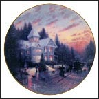 The Magic Of Christmas Collector Plate by Thomas Kinkade