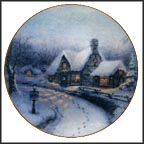 Olde Porterfield Gift Shoppe Collector Plate by Thomas Kinkade MAIN