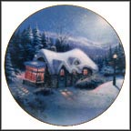 Silent Night Collector Plate by Thomas Kinkade