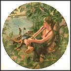 Tom Sawyer The Pirate Collector Plate by William Chambers