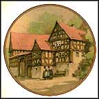 Farmhouse In Fronhausen Collector Plate by Karl Bedal