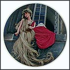 Rapunzel Collector Plate by Charles Gehm