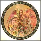 The Angel's Adoration Collector Plate by Sulamith Wulfing MAIN