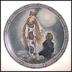 Since I First Saw Him Collector Plate by Sulamith Wulfing MAIN