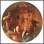 The Chemist Collector Plate by Albert Anker