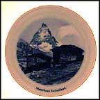 Matterhorn, Switzerland Collector Plate by Albert Anker