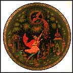 The Tsarevich And The Firebird Collector Plate by Alexander N. Klipov