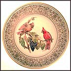 Cardinal Collector Plate by Edward Marshall Boehm MAIN