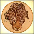 Jaguar Collector Plate by Guy Coheleach