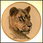 Lioness Collector Plate by Guy Coheleach MAIN