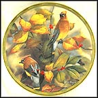 Among The Berries Collector Plate by Catherine McClung
