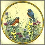 Summer Interlude Collector Plate by Catherine McClung