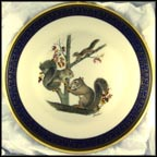 Squirrels Collector Plate by Edward Marshall Boehm MAIN