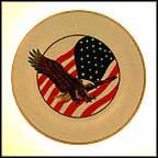 Eagle And Flag Collector Plate