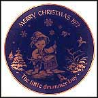 Little Drummer Boy Collector Plate by Josef Neubauer