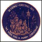 Carolers Collector Plate by Josef Neubauer