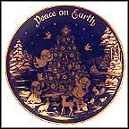 Peace On Earth Collector Plate by Josef Neubauer