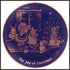 The Joy Of Christmas Collector Plate by Josef Neubauer