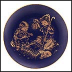 Holy Night Collector Plate by Josef Neubauer