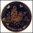Mother And Child Collector Plate by Josef Neubauer