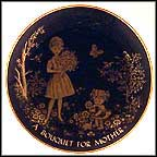 Bouquet Collector Plate by Josef Neubauer