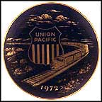 Union Pacific Railroad Collector Plate