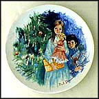 Cecile And Raoul Collector Plate by Paul Durand