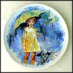 Christiane And Fifi Collector Plate by Paul Durand