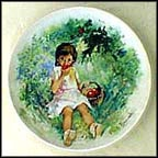 Marie-Ange Collector Plate by Paul Durand