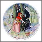 Little Red Riding Hood Collector Plate by Andre Quellier