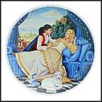 Sleeping Beauty Collector Plate by Andre Quellier