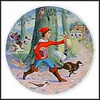 Little Tom Thumb Collector Plate by Andre Quellier
