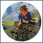The Franklin's Tale Collector Plate by G. A. Hoover