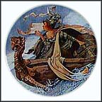 The Man Of Law's Tale Collector Plate by G. A. Hoover