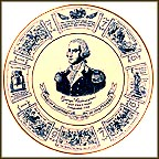 George Washington, First President Collector Plate MAIN