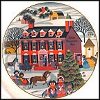The Olde Countrie Inn Collector Plate by Betsey Bates