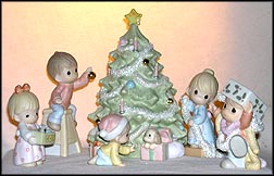 Wishing You An Old Fashioned Christmas set of 6