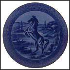 Horse Collector Plate