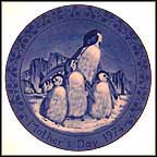 Penguins Collector Plate