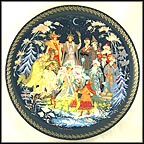 The Twelve Months Collector Plate by Elena Alimova